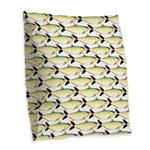 Amazon Pellona fish Pattern Burlap Throw Pillow