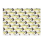 Amazon Pellona fish Pattern 5'x7'Area Rug