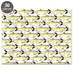 Amazon Pellona fish Pattern Puzzle