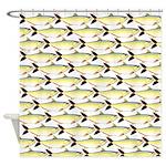 Amazon Pellona fish Pattern Shower Curtain