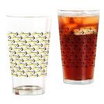 Amazon Pellona fish Pattern Drinking Glass