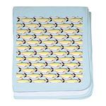 Amazon Pellona fish Pattern baby blanket