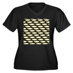 Amazon Pellona fish Pattern Plus Size T-Shirt
