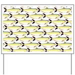 Amazon Pellona fish Pattern Yard Sign