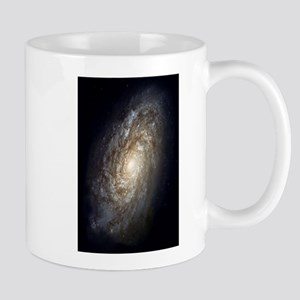 Spiral Galaxy NGC 4414 by the Hubble Space Te Mugs