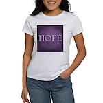 Hope Women's Classic White T-Shirt