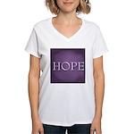Hope Women's V-Neck T-Shirt