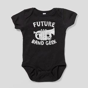 Future Band Geek Tuba Baby Bodysuit