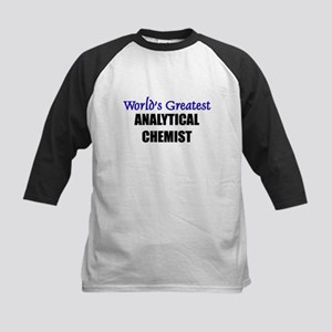 Worlds Greatest ANALYTICAL CHEMIST Kids Baseball J