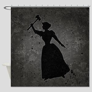 Axe Murderess Shower Curtain
