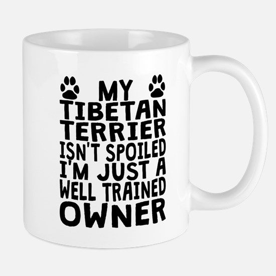 Well Trained Tibetan Terrier Owner Mugs