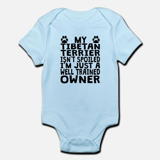 Well Trained Tibetan Terrier Owner Body Suit