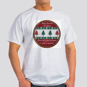 Ugly Sweater Oval T-Shirt