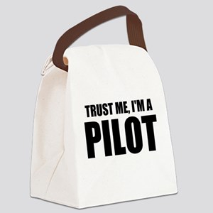 Trust Me, I'm A Pilot Canvas Lunch Bag