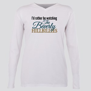 Beverly Hillbillies Plus Size Long Sleeve Tee