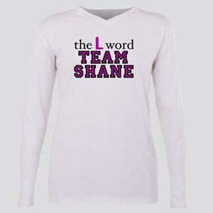 L Word Shane Plus Size Long Sleeve Tee
