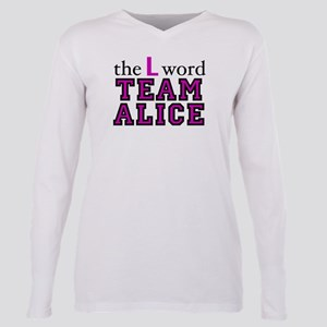 L Word Alice Plus Size Long Sleeve Tee