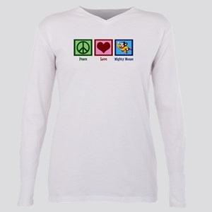 Mighty Mouse Plus Size Long Sleeve Tee