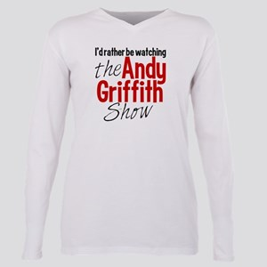 Andy Griffith Show Plus Size Long Sleeve Tee