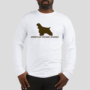 American Cocker Spaniel (brow Long Sleeve T-Shirt