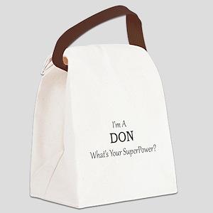 Director of Nurses Canvas Lunch Bag