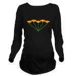 Love Flower 10 Long Sleeve Maternity T-Shirt