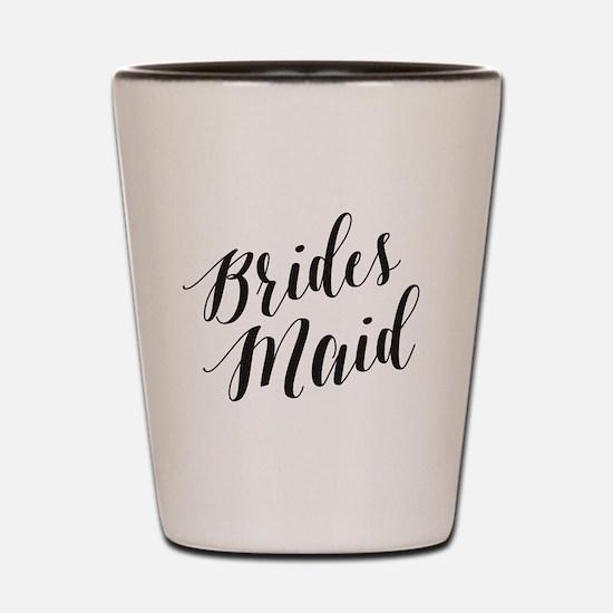 Cute Bridesmaids Shot Glass