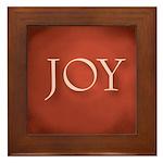 Joy Framed Tile