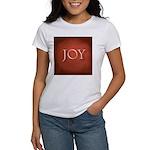 Joy Women's Classic White T-Shirt