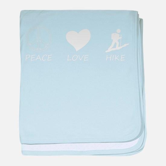 peace love baby blanket