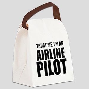 Trust Me, I'm An Airline Pilot Canvas Lunch Bag
