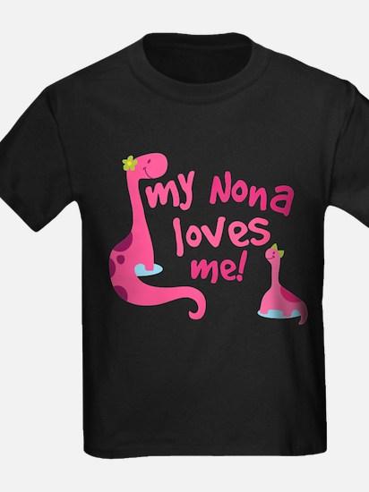 Unique Pink dinosaur T