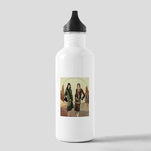 Flapper Girls Winter F Stainless Water Bottle 1.0L