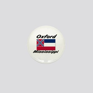 Oxford Mississippi Mini Button