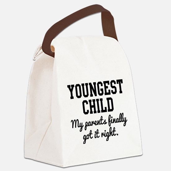 Cute Siblings Canvas Lunch Bag