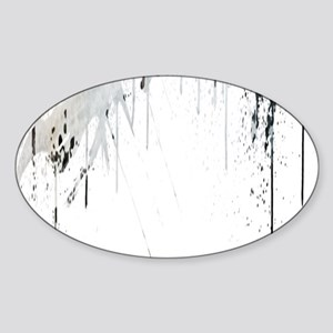 Last Man on Earth Glasses Sticker (Oval)