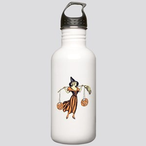 Vintage Halloween Dres Stainless Water Bottle 1.0L