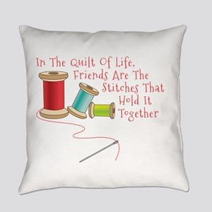 Quilt of Life Everyday Pillow