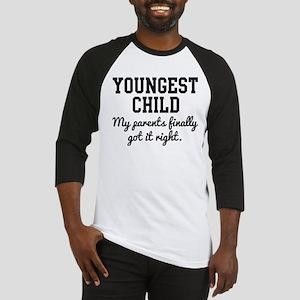 Youngest Child Baseball Jersey