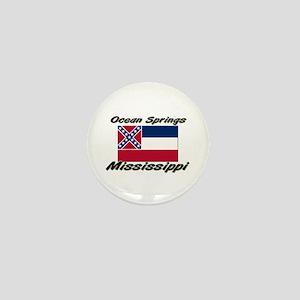 Ocean Springs Mississippi Mini Button