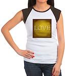 Love Junior's Cap Sleeve T-Shirt