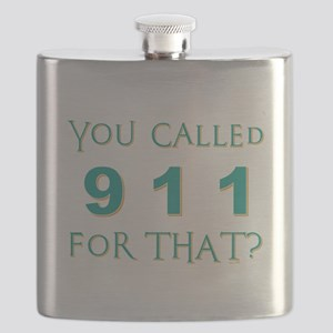 YOU CALLED 911 Flask