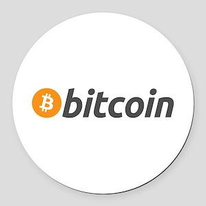 Bitcoin Round Car Magnet