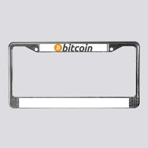 Bitcoin license plate frames cafepress bitcoin license plate frame ccuart Images