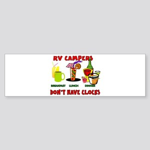 RV CAMPERS Bumper Sticker