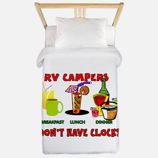 RV CAMPERS Twin Duvet Cover