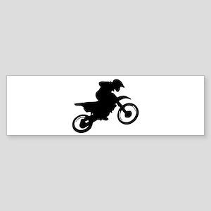 Motorcycle trials Bumper Sticker