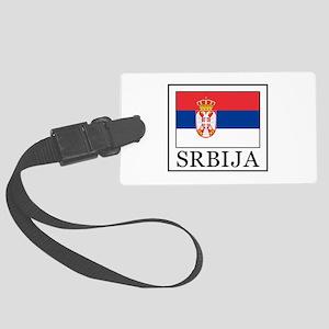 Srbija Large Luggage Tag