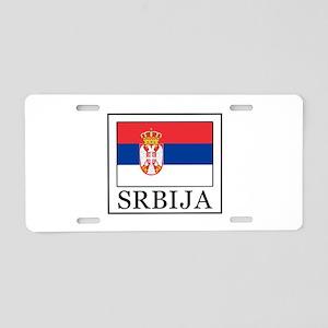 Srbija Aluminum License Plate