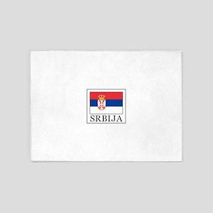 Srbija 5'x7'Area Rug